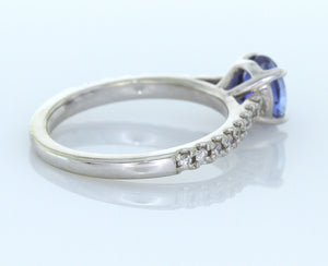 1.05 ct. Oval Blue Sapphire