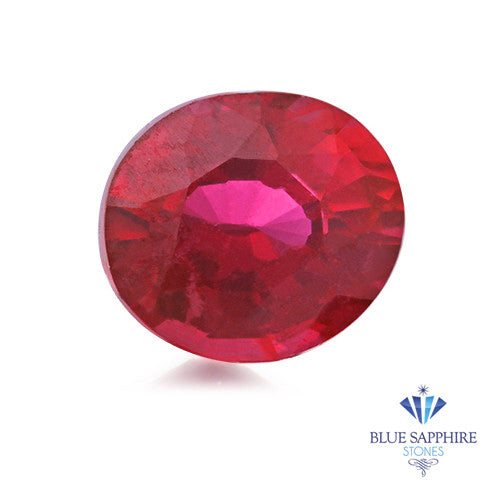 0.76 ct. Oval Ruby