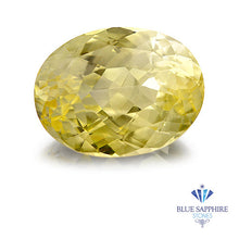 6.01 ct. Oval Yellow Sapphire