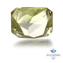 2.88 ct. Unheated Emerald Cut Yellow Sapphire