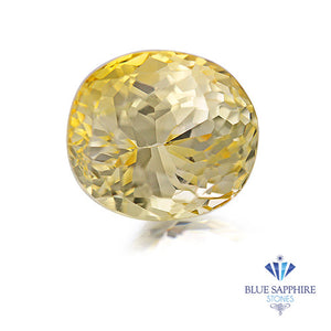 1.81 ct. Unheated Oval Yellow Sapphire