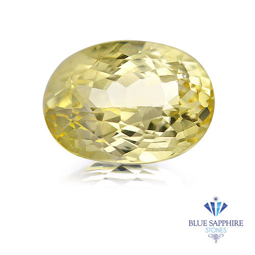 2.85 ct. Oval Yellow Sapphire