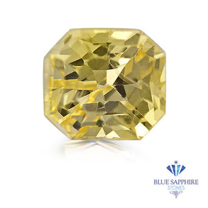 1.21 ct. Unheated Radiant Yellow Sapphire