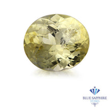 3.88 ct. Oval Yellow Sapphire