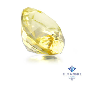 1.34 ct. Unheated Cushion Yellow Sapphire