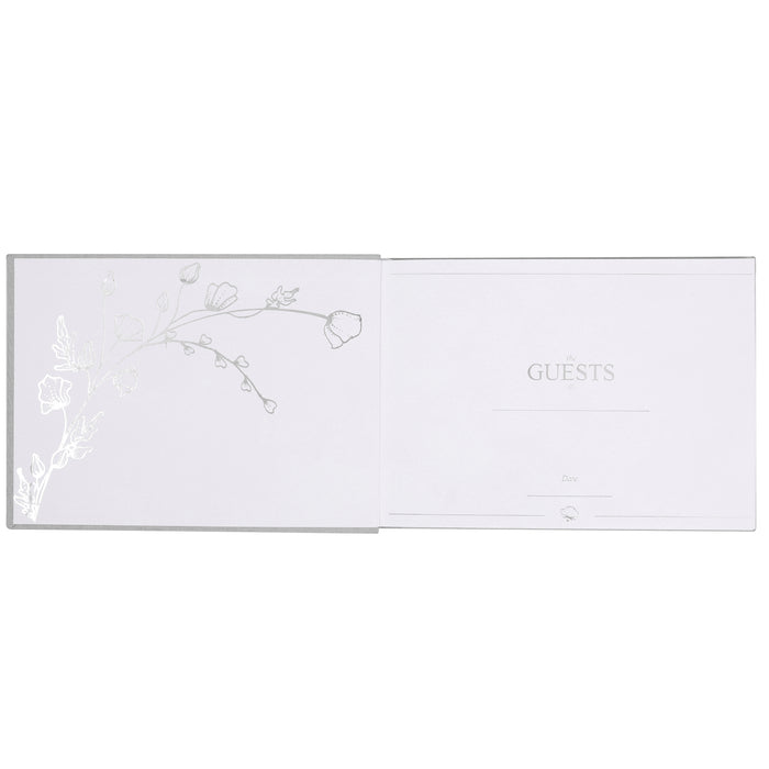 Wedding Guest Book - Linen Hardcover