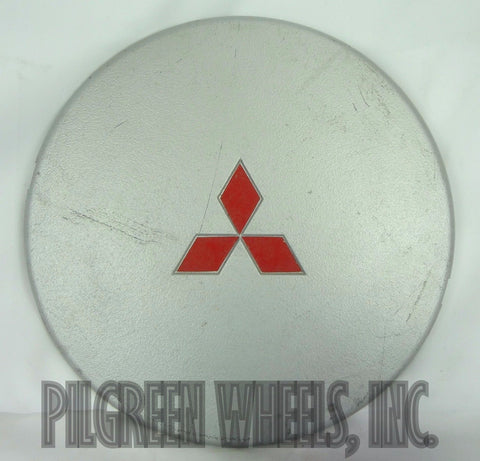 "MITSUBISHI ECLIPSE WHEEL CENTER CAP MB540180 1990-1992 SILVER 7 1/4"" USED - Pilgreen Wheels & Tires"