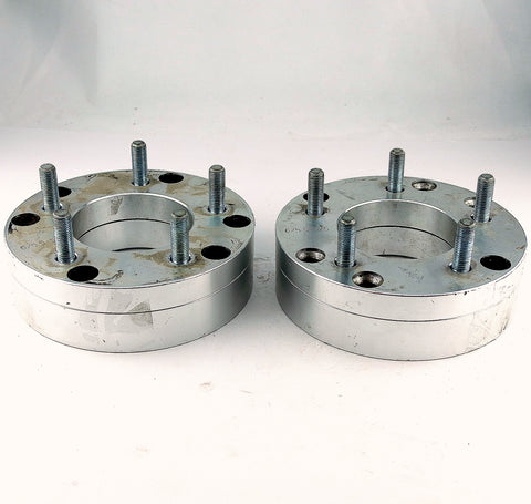 "Pair(2) FTW Wheel Adapters 6x5.5 to 5x5 2"" Spacer 12x1.5 Studs USED"