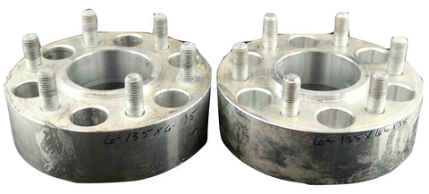"Pair(2) FTW Wheel Adapters 6x135 to 6x135 2"" Spacer 14x2 Studs USED"