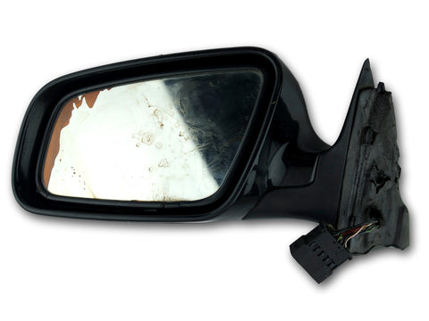 Audi A4 B5 OE Left Driver Side Mirror RS0 225 401 Black 1999-2001 Used