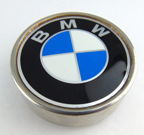 "BMW 320i OE Wheels Rim Center Cap No Part# Polished 1977-1983 3 1/8"" Used - Pilgreen Wheels & Tires"