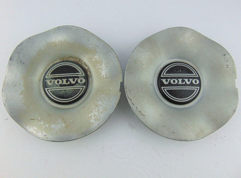 "Pair(2) Volvo 850 OE Wheels Center Cap 9140405 Silver 1993-1997 5 5/8"" Used - Pilgreen Wheels & Tires"