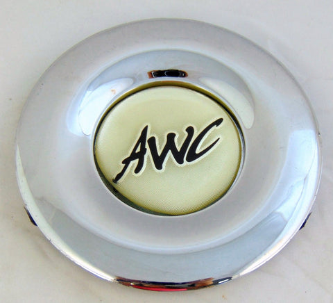 "AWC Wheels Rim Center Cap GMC-7700 Chrome 5 1/2""  NEW - Pilgreen Wheels & Tires"