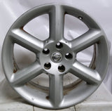 18x8 Nissan 350z REAR OE Wheels Rim 5x4.5 Silver 2003-2005 +30 Used