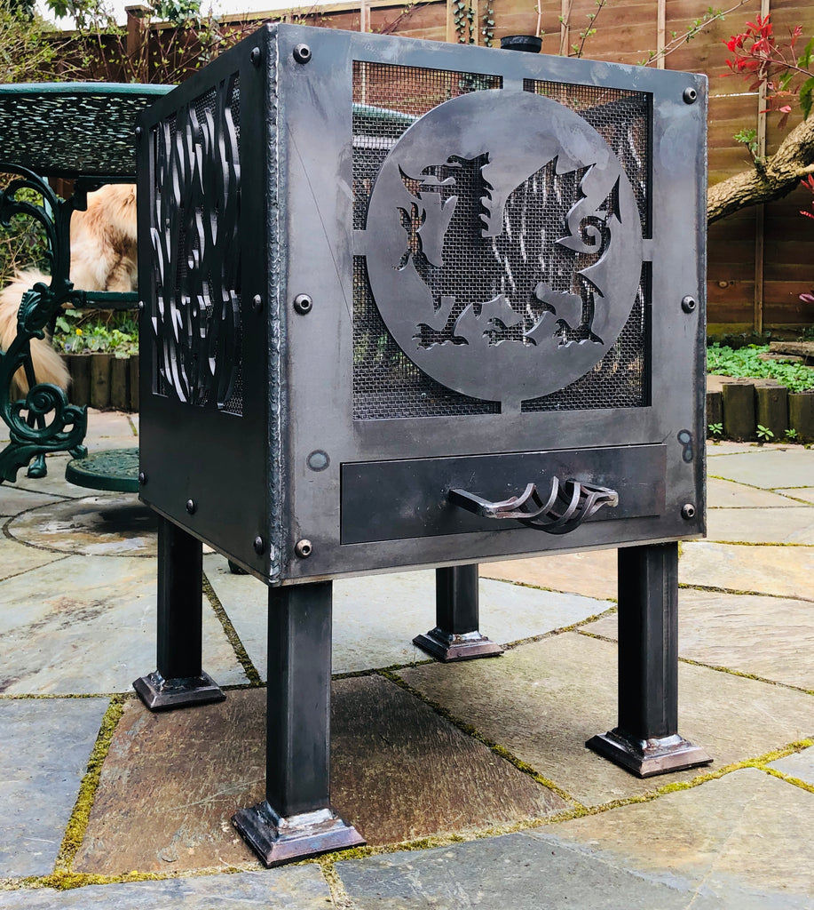 Welsh Dragon Fire Pit Delivery