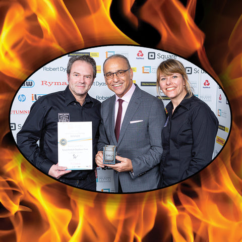 Theo Pathitis Recognises Great British Outdoor Fires