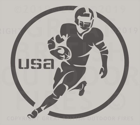 American Football with USA