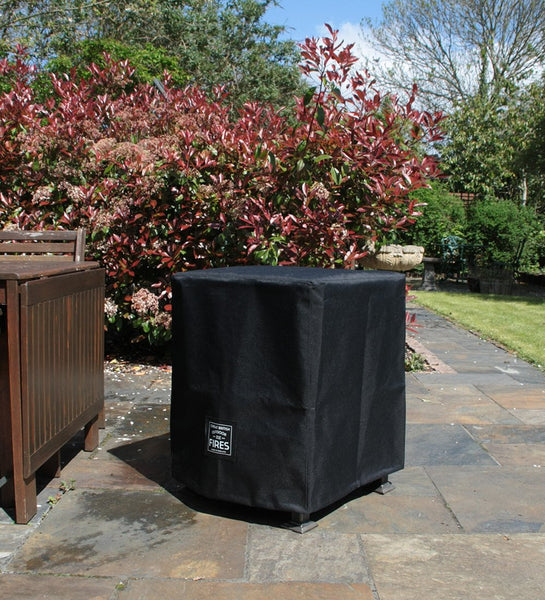 Fire Pit Waterproof Covers - 3 Sizes each with a Tall Option for Use with Castors