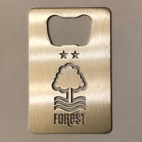 Nottingham Forest (NFFC) Stainless Steel Bottle Opener (Official Product)