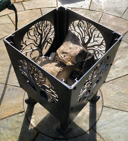'Tree of Life Circle' Fire Pit | Size: Courtyard (400mm)