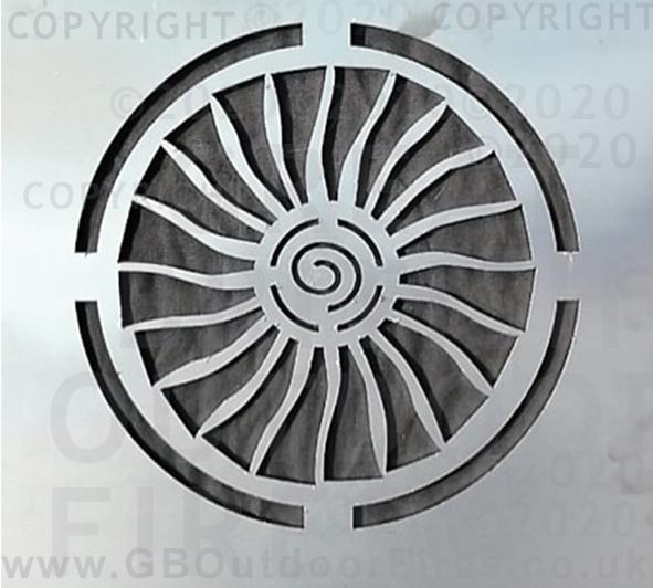 Jet Engine - Rolls-Royce Trent 1000 Intake Fan