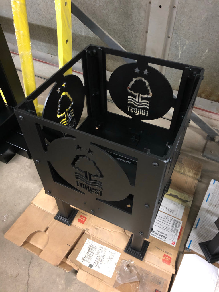 Black High Temperature Powder Coating