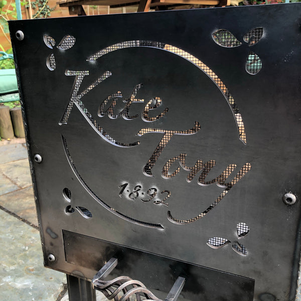 Personalised Fire Pit (40 x 40 x 60 cm)