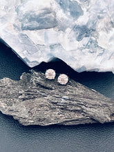 Load image into Gallery viewer, EMMA - 1ct Four Prong Setting Moissanite Stud Earrings In Silver