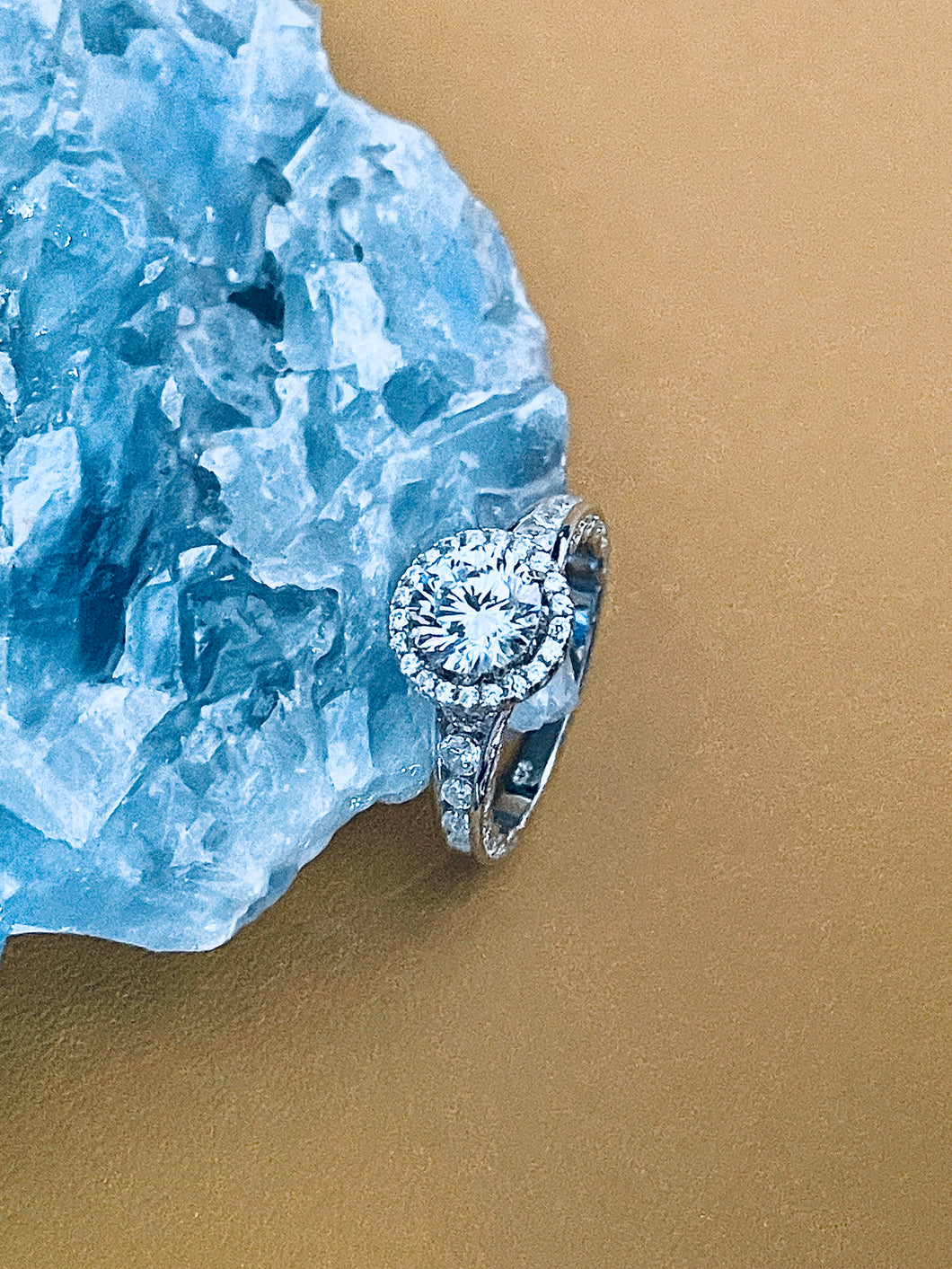 NAOMI - 1.65ct Sterling Brilliant Round-Cut CZ Ring In Silver - JohnnyB Jewelry