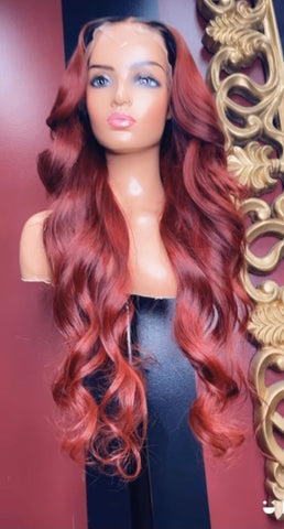 Paprika frontal wig *please allow 2-4 weeks before shipping out