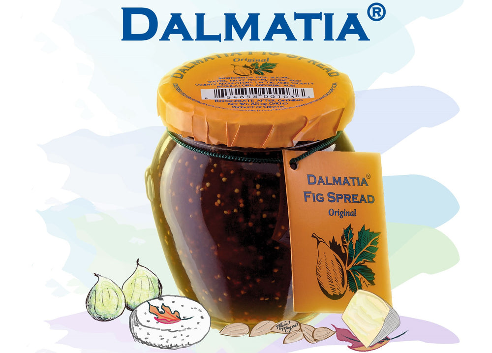 Dalmatia Fig Spread Logo