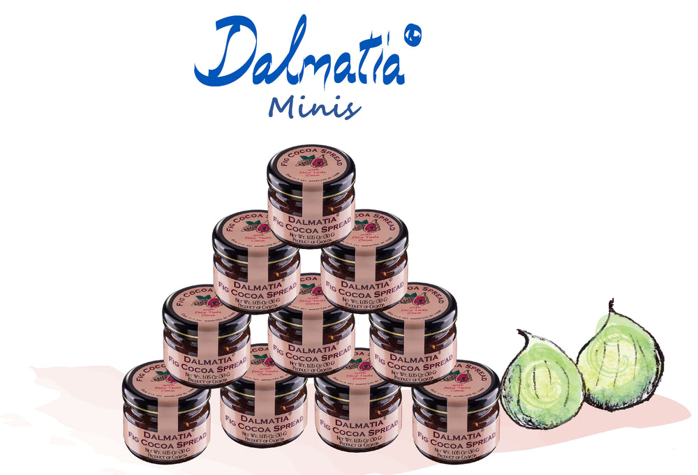 Dalmatia® Fig Cocoa Spread mini jar