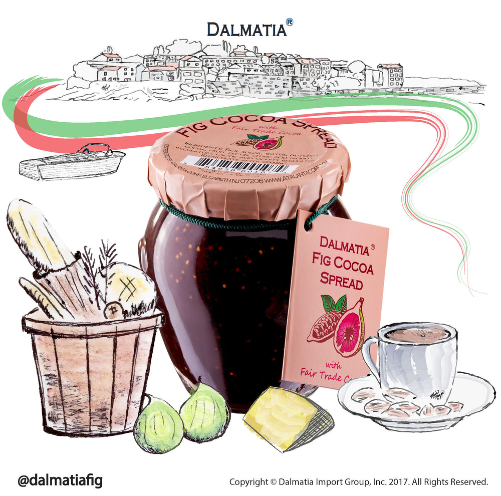 Dalmatia® Fig Cocoa Spread 12-pack