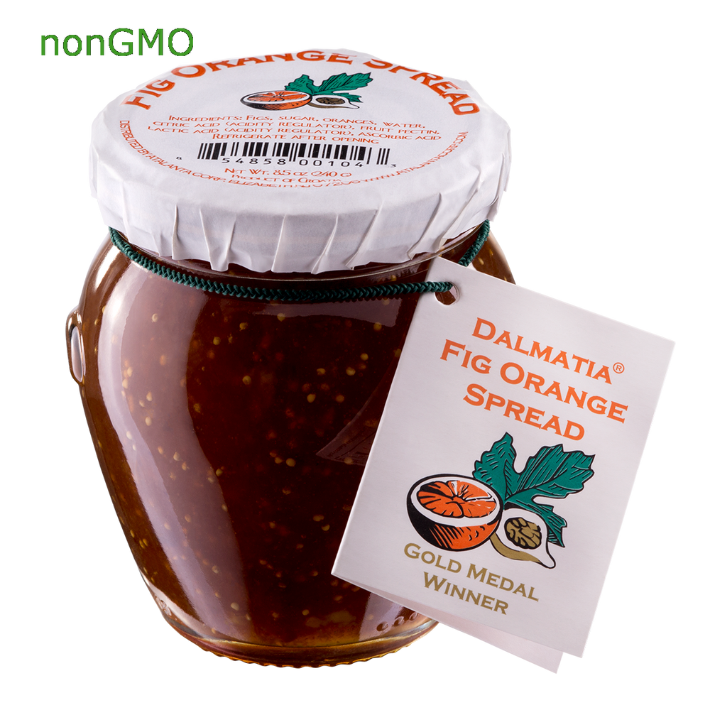 Award-winning Dalmatia® Fig Orange Spread 8.5oz jar