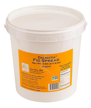 Award-winning recipe Dalmatia® Fig Spread pails 4/3.53lb - 4 PAILS
