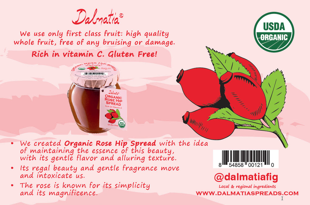 Dalmatia® Organic Rose Hip Spread
