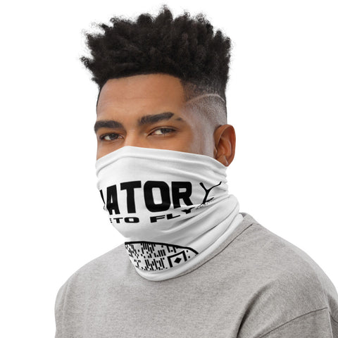 Neck Gaiter with Youthful Ambition YA Aviator - Logo