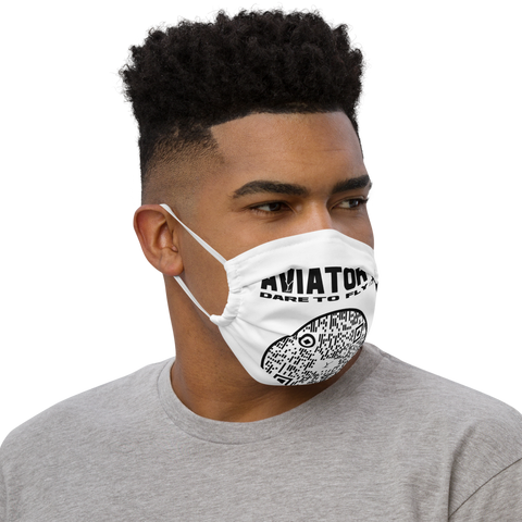 Premium face mask -  Aviator YA branded