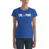 Women's short sleeve t-shirt Grl Pwr - Youthful Ambition YA