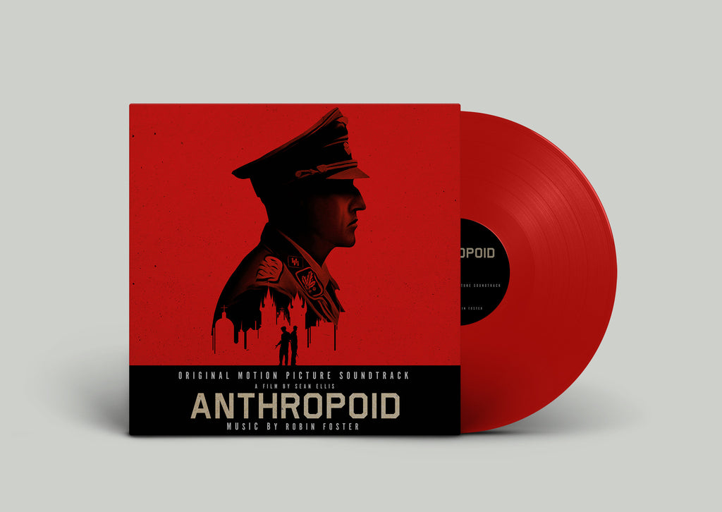 Anthropoid Soundtrack - Red LP - Preorder