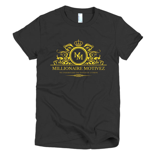 Millionaire Motivez Luxury POV Short sleeve women's t-shirt