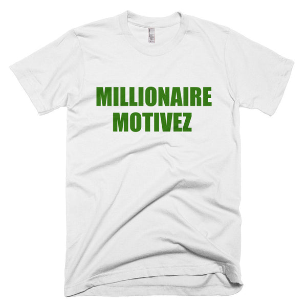 Millionaire Motivez Short sleeve men's t-shirt