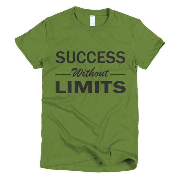 Success Without Limits Short sleeve women's t-shirt