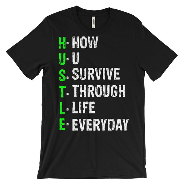 Hustle 2 Unisex short sleeve t-shirt