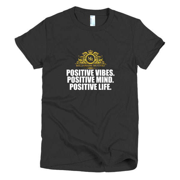 Positive Short sleeve women's t-shirt