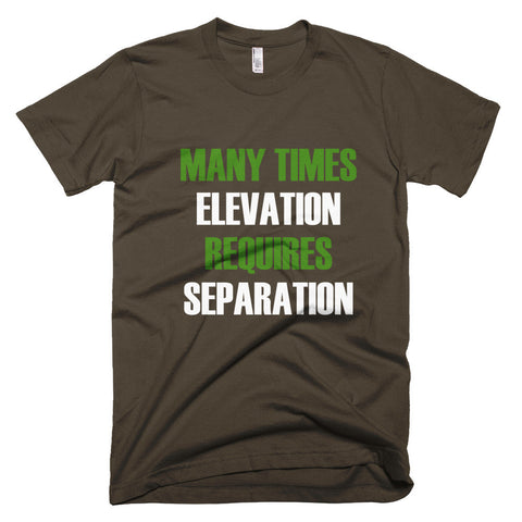 Elevation Short sleeve men's t-shirt