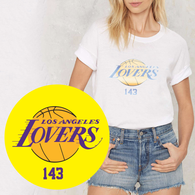 Los Angeles Lovers Tee by 143