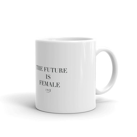 The Future Is Female Mug by 143