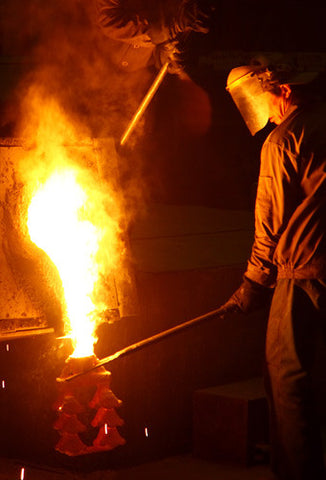 Hanwei- Pouring - Lost Wax Casting