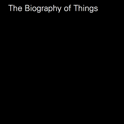 The Biography of Things catalogue